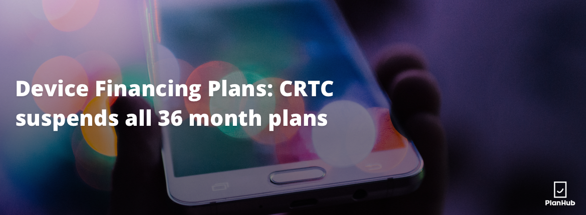 crtc device financing 36 months plans